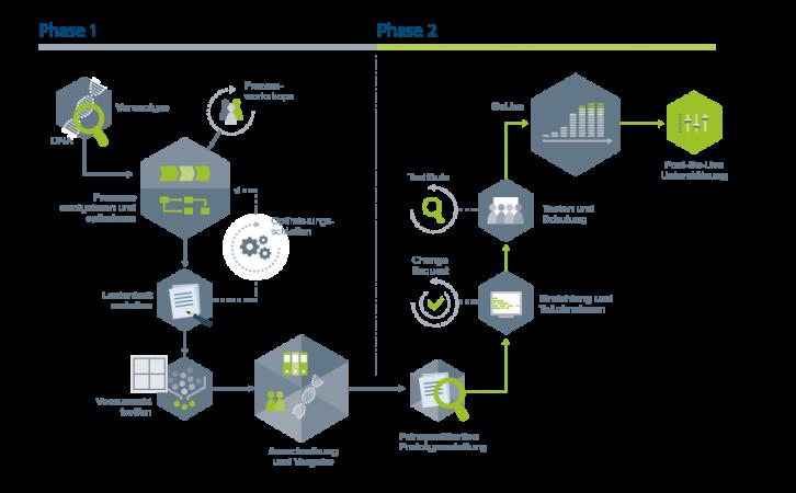 agiplans Methodik zur Systemeinführung