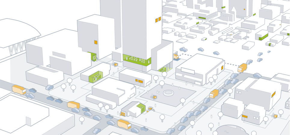 illustration urbane logistik – agiplan