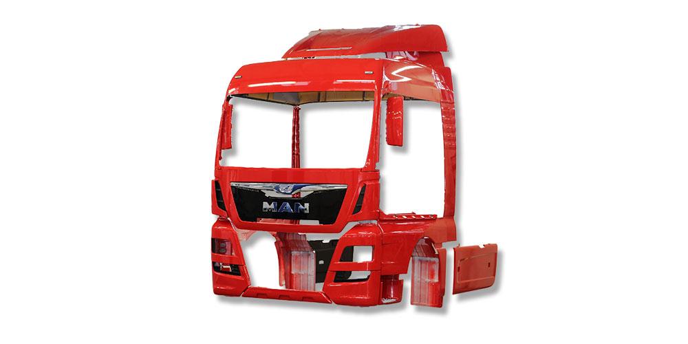 man Truck Karosserie