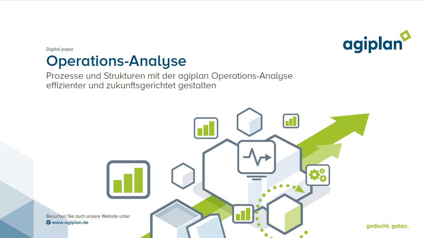 Deckblatt Whitepaper Operations-Analyse