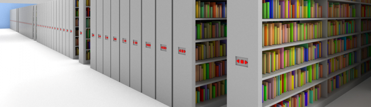 Erweiterungsbau: Lagerung der Medien in der deutschen Zentralbibliothek