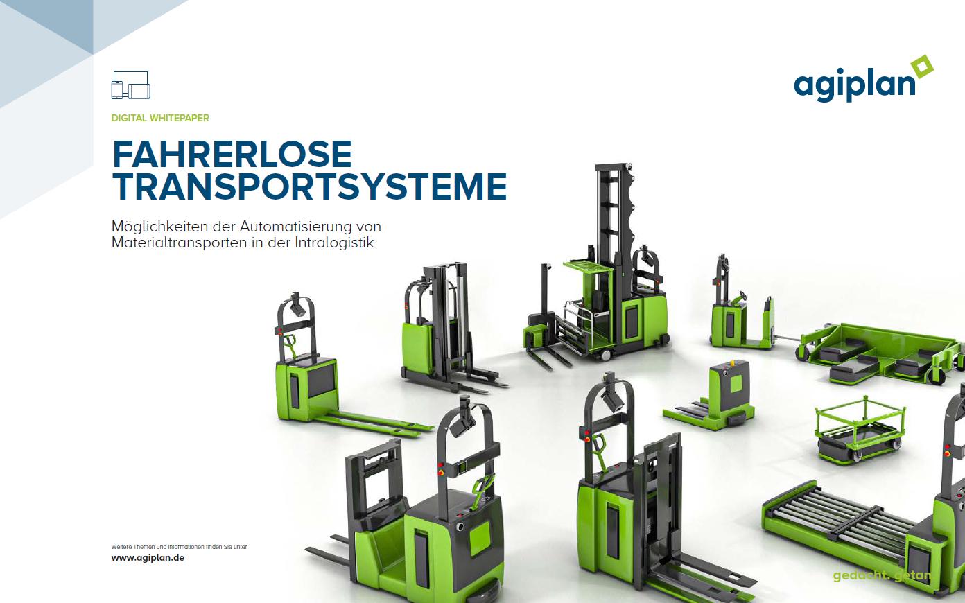 Digital Paper Fahrerlose Transportsysteme