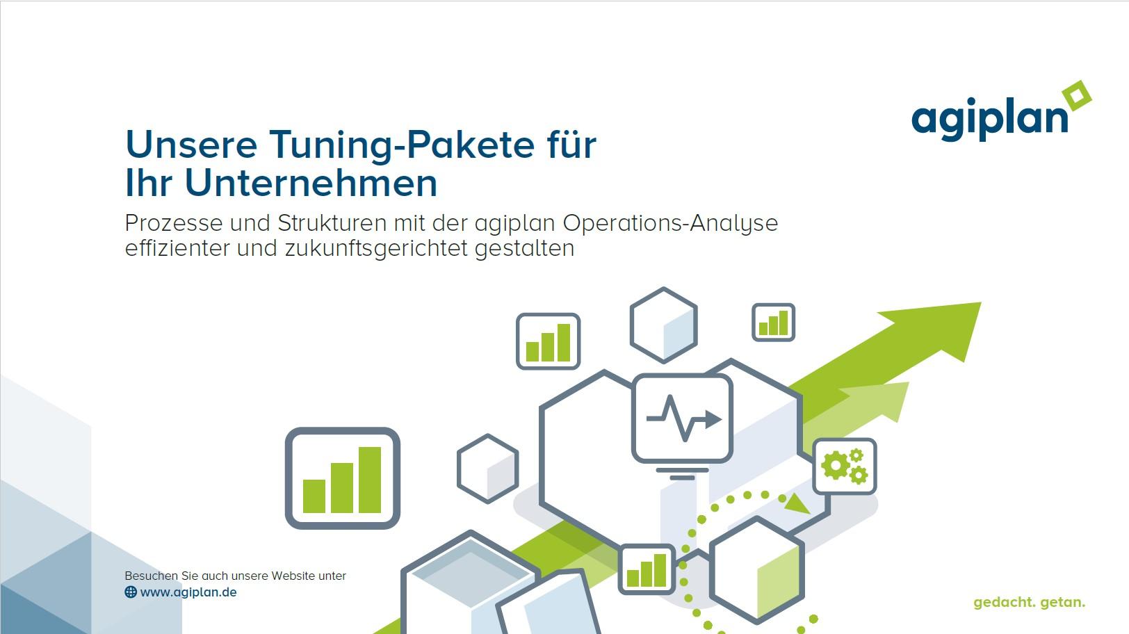 agiplan Operations-Analyse zum Festpreis